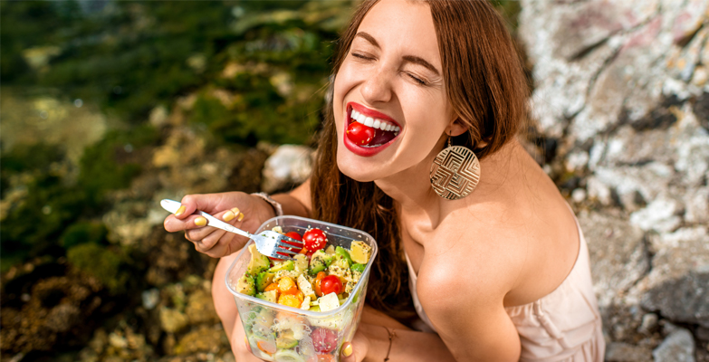 Benefícios de uma alimentação saudável - Saladices